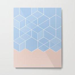 SORBETEBLUE Metal Print