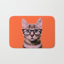 Warhol Cat 2 Bath Mat