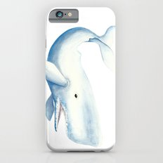 Nautical Whale Watercolor Slim Case iPhone 6s