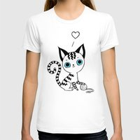 kitten T-shirts featuring Kitten by Freeminds
