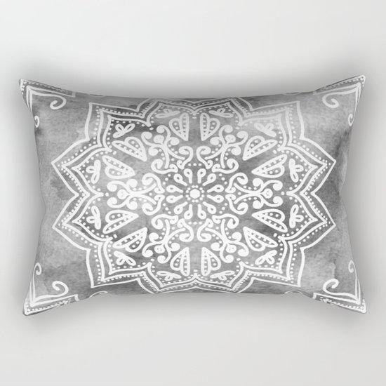 MOONLIGHT MANDALA Rectangular Pillow
