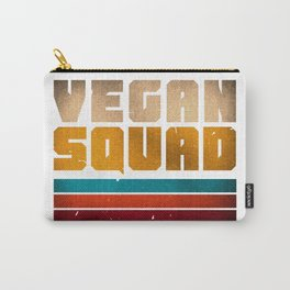 VEGAN SQUAD VINTAGE Carry-All Pouch