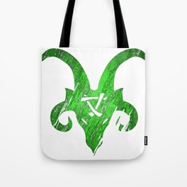 Green Horned Skaven Tote Bag