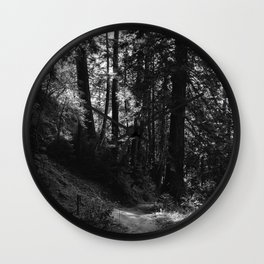 Big Sur Hike Wall Clock