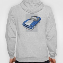 1983S L-Body Charger Blue Hoody
