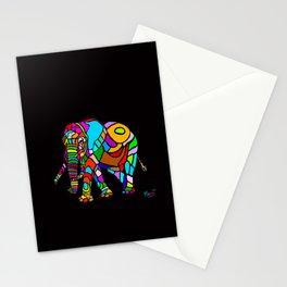 Rainbow Elephant Stationery Cards