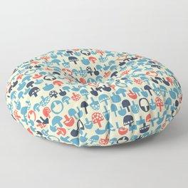 Mushroom Boom Floor Pillow