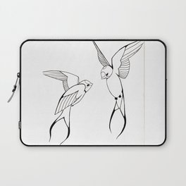 Lovebirds-Swallows Laptop Sleeve