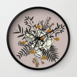 Blossom.1 Wall Clock