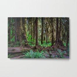 Strange Woods Metal Print