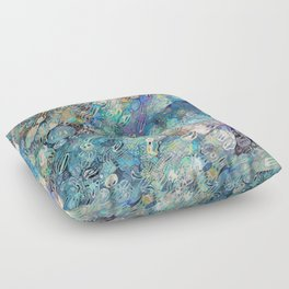 River Rock Floor Pillows : Letter A Wdu_Print by gretzky Society6