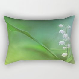 lily of the valley... Rectangular Pillow