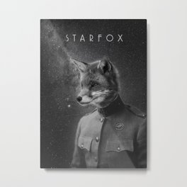 World War I Starfox Metal Print
