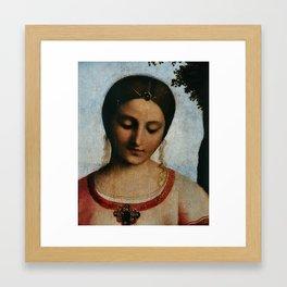 Italian Art Print Framed Art Print