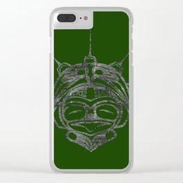 Smoke Frog Grass Clear iPhone Case