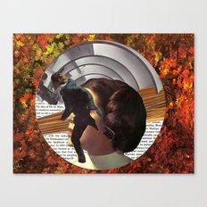Portal to Mars Canvas Print