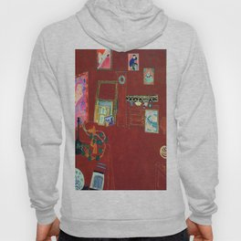 Henri Matisse The Red Studio Hoody