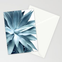 Bursting into life - teal Stationery Cards