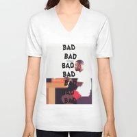 religion V-neck T-shirts featuring Bad Religion. by indefinit