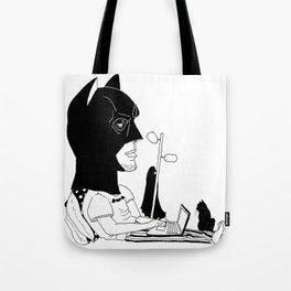Bat Pjs Tote Bag