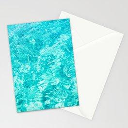 Sea Pattern Art Print Stationery Cards