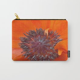 Poppy Seeds Carry-All Pouch