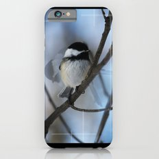 Black Capped Chickadee In Motion  iPhone 6s Slim Case
