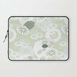 Pretty Poppies Seamless Repeating Pattern Laptop Sleeve