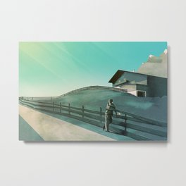 Waiting for You (Summer Version) Metal Print