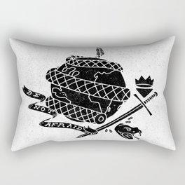 Be Not Afraid In This World Rectangular Pillow