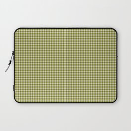 Olive Gingham Laptop Sleeve