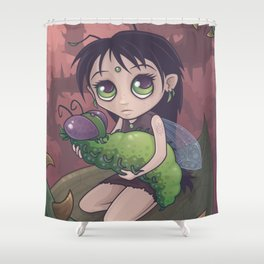 Grublings Shower Curtain
