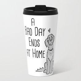 A Bad Day Ends at Home Travel Mug