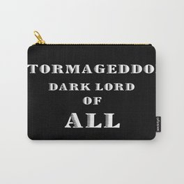 Doctor Who Stormageddon Dark Lord of All Carry-All Pouch