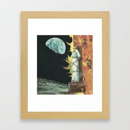 fogo V Joana D'arc Framed Art Print