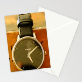 Time is on your side Stationery Cards