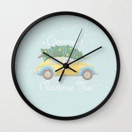 O Christmas Tree Wall Clock