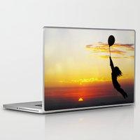 anaconda Laptop & iPad Skins featuring Hold Tight by Skye Zambrana
