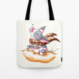 Snow and Cocoa Tote Bag