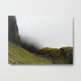 Storr Mist Metal Print