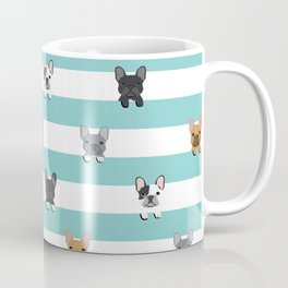 French Bulldog stripes Coffee Mug