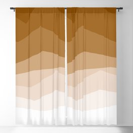 Earth Waves Astract Blackout Curtain