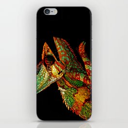KARMA CHAMELEON iPhone Skin