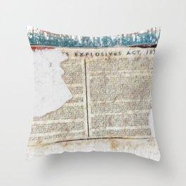 Explosive 1875  Throw Pillow