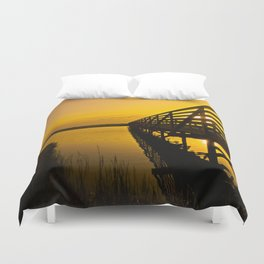 Sunrise Bolsa Chica Wetlands 2 Duvet Cover