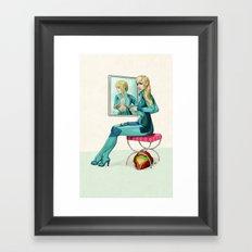 Vanity Games - Samus Framed Art Print