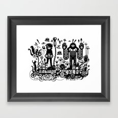 Big Babu long lasting dub Framed Art Print