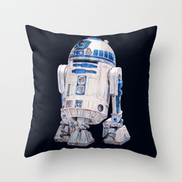 R2 D2 - Star Wars Throw Pillow