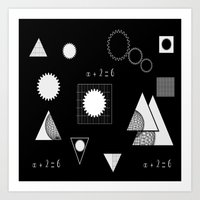 math Art Prints featuring math by BruxaMagica_susycosta