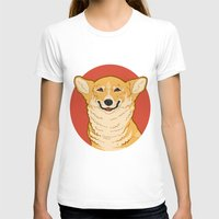 corgi T-shirts featuring Corgi by Greving Art
